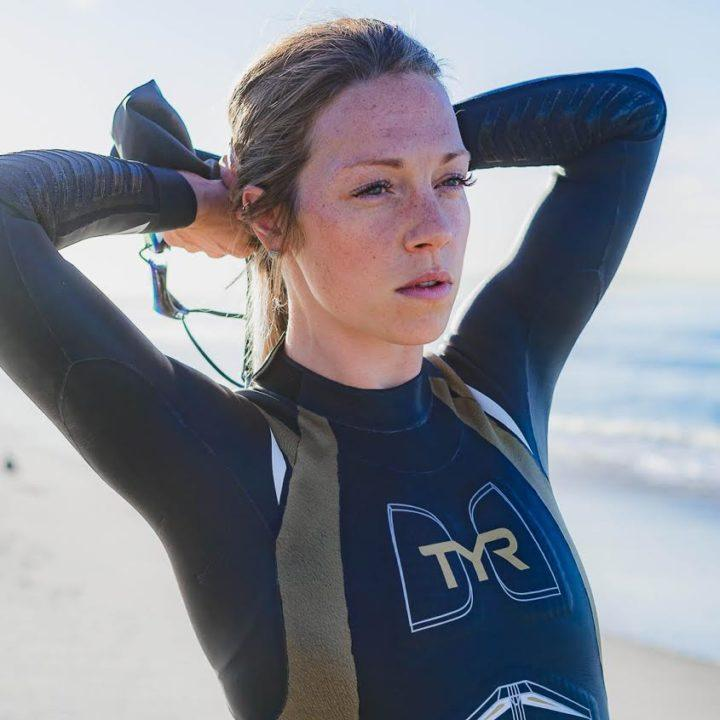 TYR Sport Signs IRONMAN 70.3 World Champion Holly Lawrence