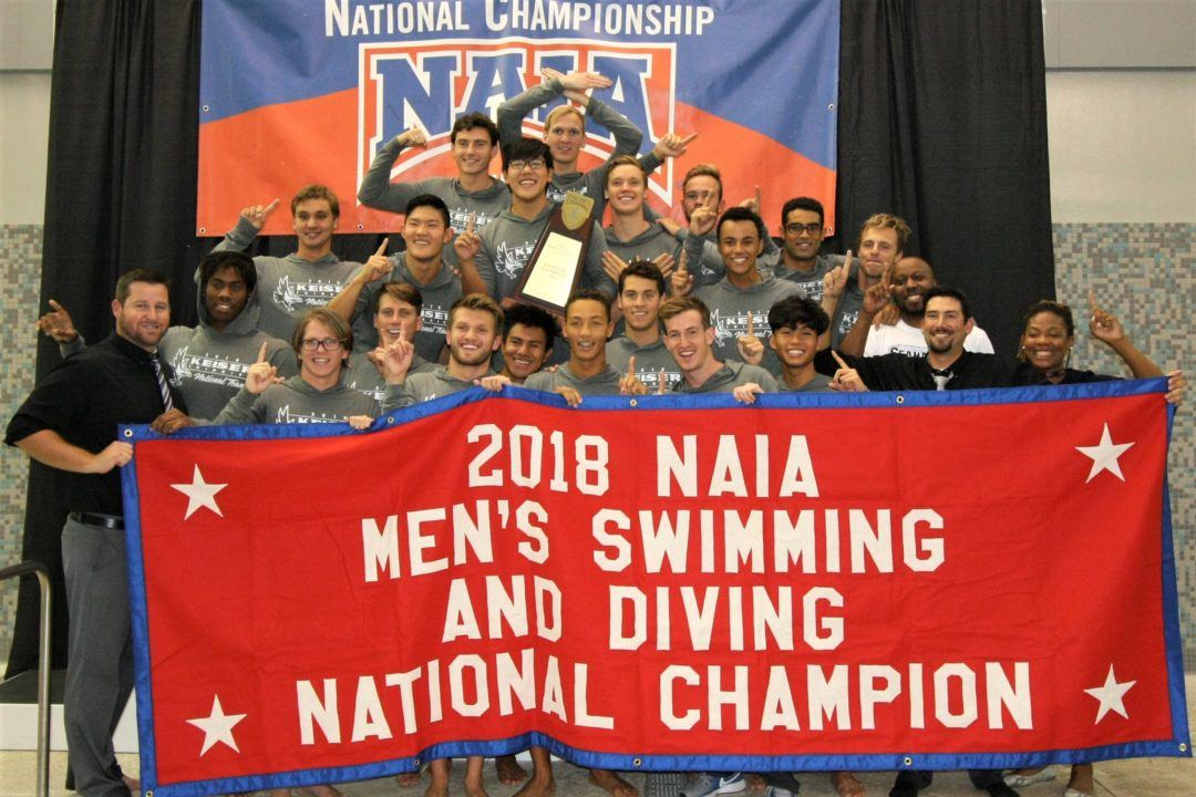 2018 NAIA Men's National Championships – Keiser Wins First-Ever Team Title