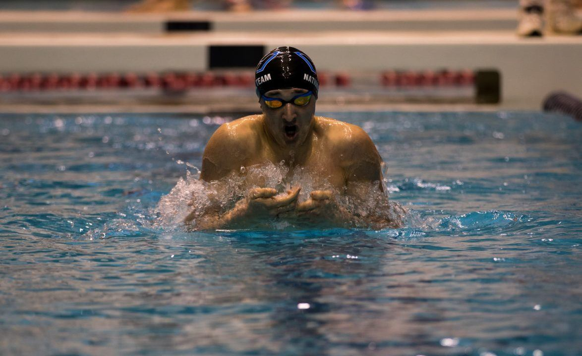Ethan Heasley Finishes Iron-man Sectionals with 1650 Free Win
