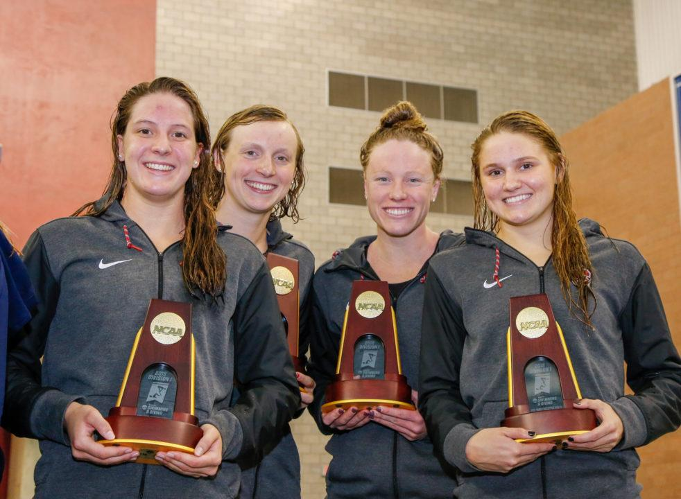 Tritonwear Race Analysis: 2018 Women's NCAA DI Championships 800 Freestyle Relay