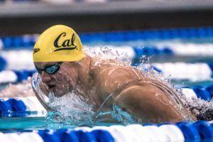 swimming Andrew Seliskar by Mike Lewis