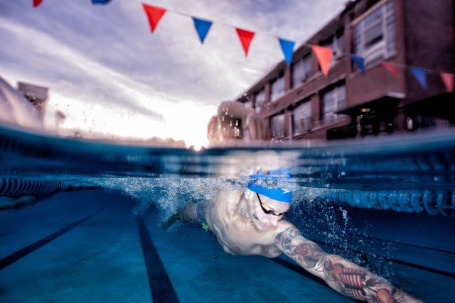Caeleb Dressel underwater photography Mike Lewis