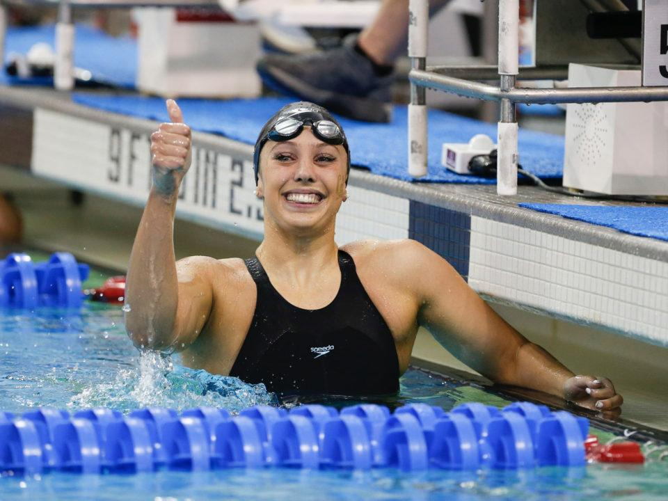 2018 W. NCAAs: Baker Goes 1:47.30 200 Back to Break Oldest American Record