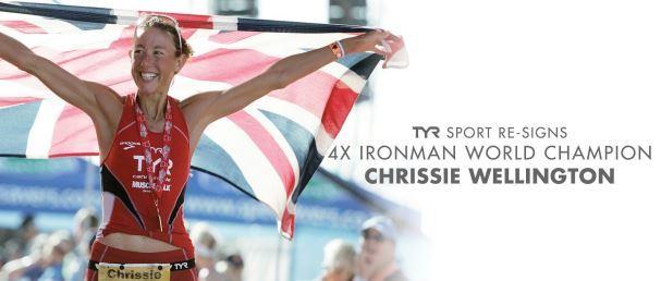 TYR Sport Re-Signs 4X IRONMAN World Champion Chrissie Wellington
