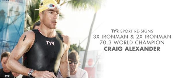 TYR Re-Signs 3X IRONMAN/2X IRONMAN 70.3 World Champion Craig Alexander