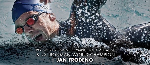 TYR Announces Re-Signing Of Olympic Gold Medalist Jan Frodeno