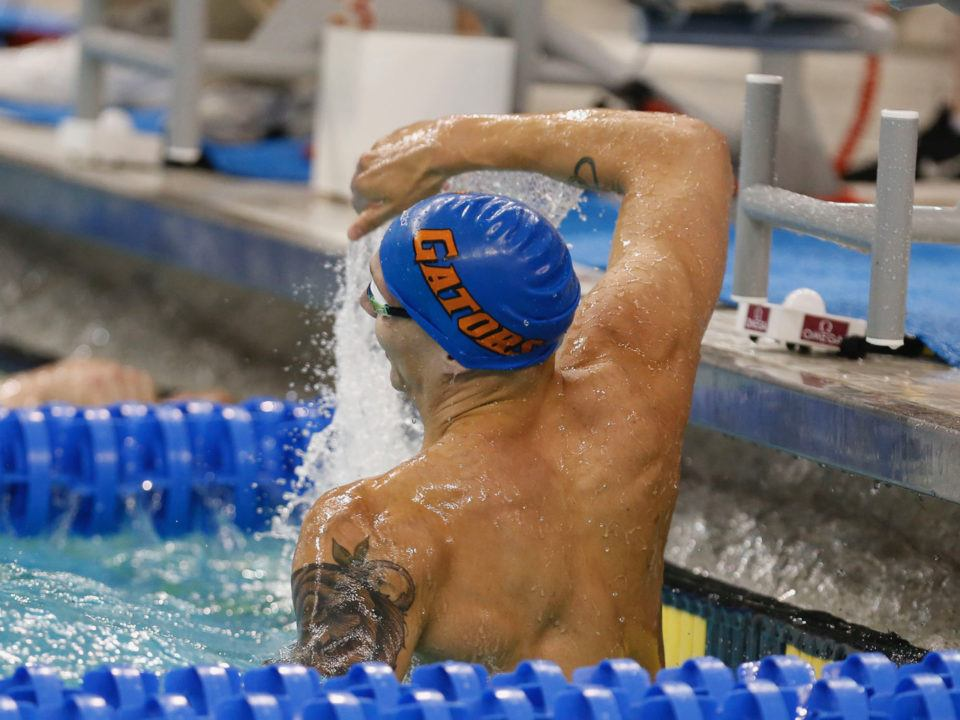 Caeleb Dressel Does it Again! 17.63 to win the 50 Free