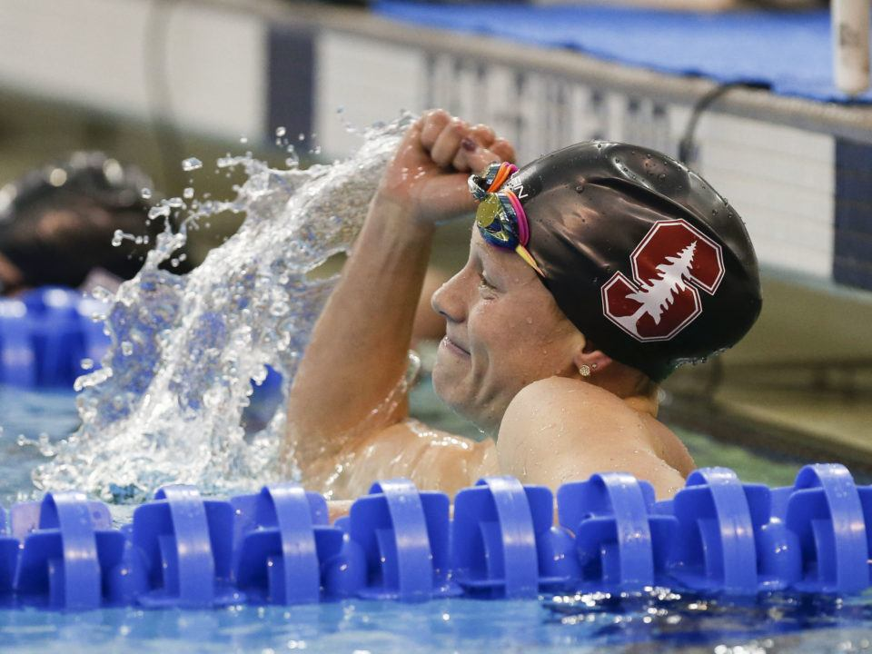 Stanford's Ella Eastin Named Pac-12 Women's Swimmer Of The Year