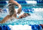 swimmer Grant Shoults by Mike Lewis