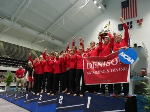 Denison Men Take Home 4th NCAA Division III Title in 8 Years