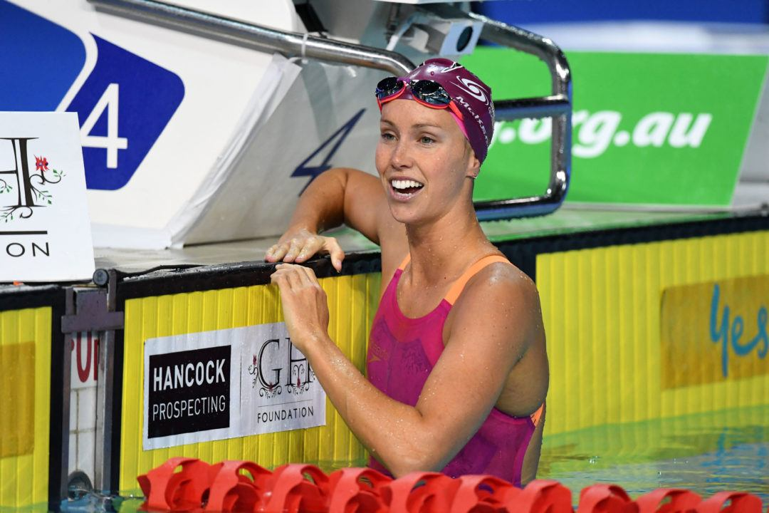 Olympic Medalist Emma McKeon Drops 200 Free From Pan Pacs