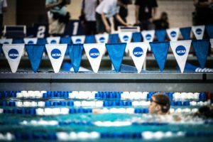 NCAA swimming by Mike Lewis