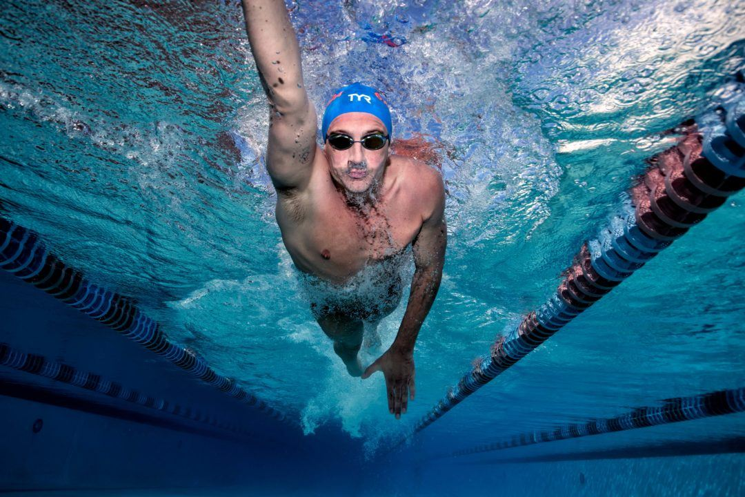 Lochte Wins 100 Free in 50.9, Scratches 200 Back Final at Plantation