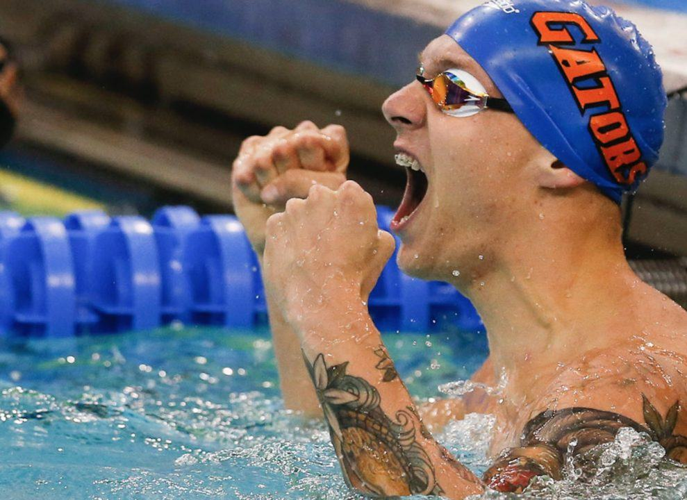 Watch Caeleb Dressel Become First Man Under :40 in 100 Free