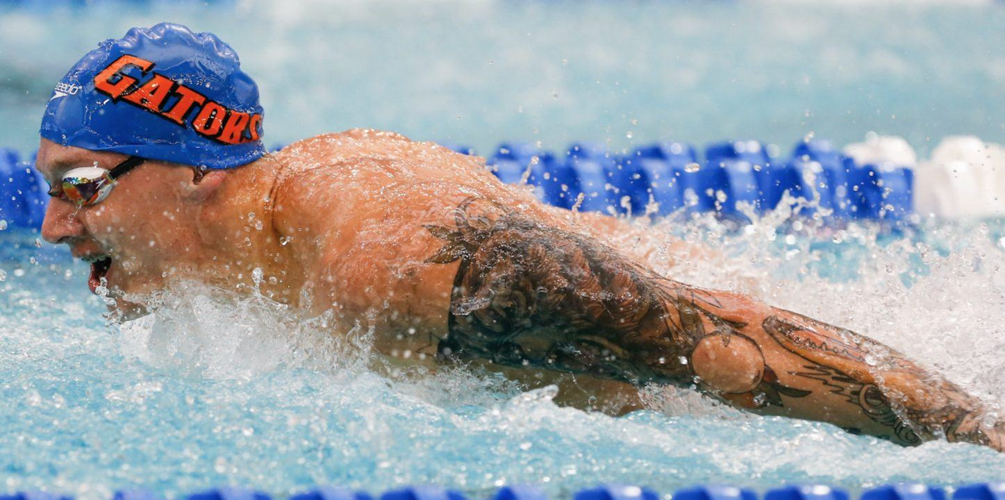 Watch Dressel Shatter 100 Fly Record with 42.8