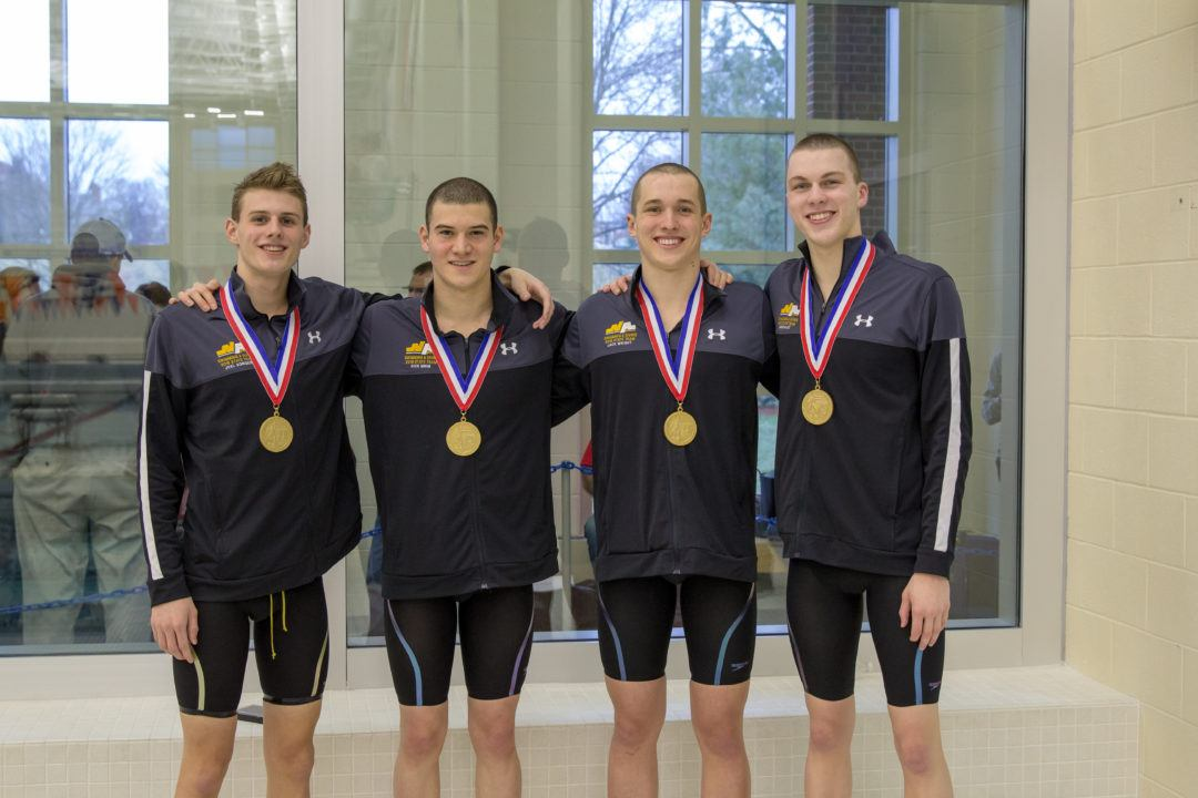 WATCH: North Allegheny Break National HS Record in 200 Free
