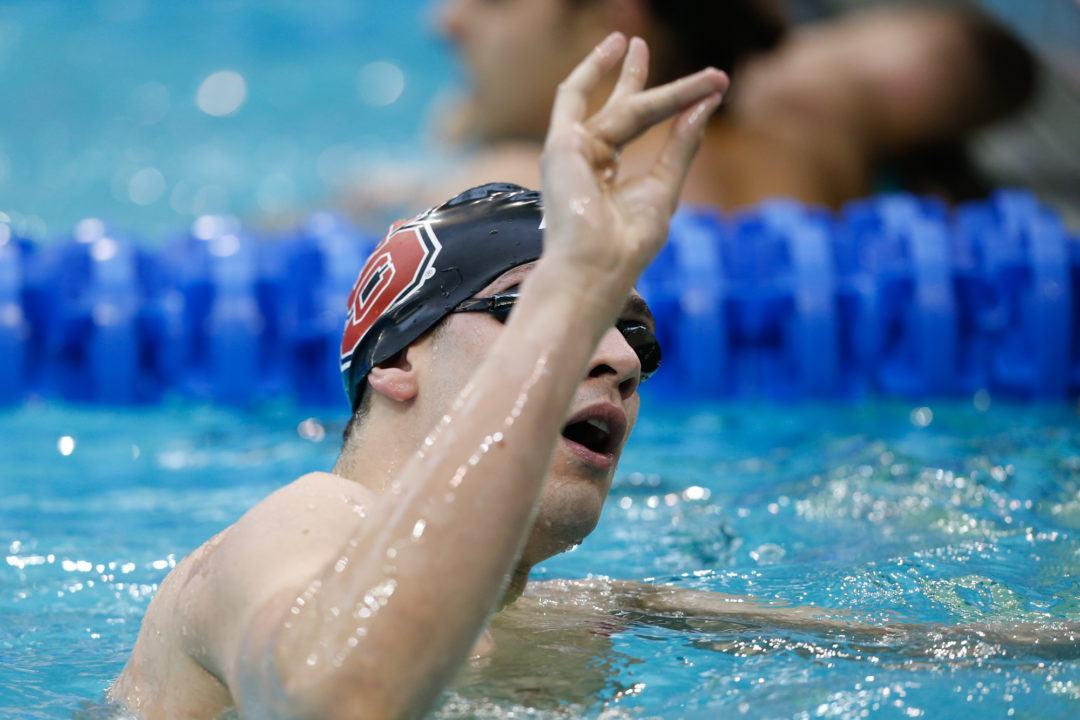NC State's Vazaios Swim 1:38.6 to Become 3rd Fastest 200 Flyer Ever