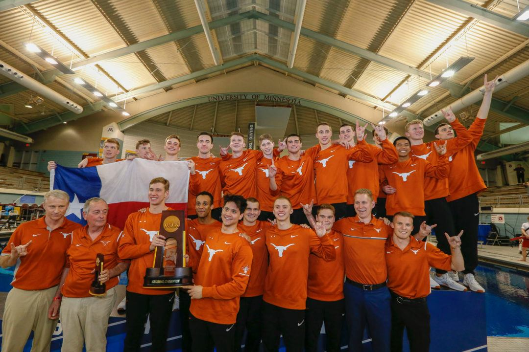 Texas Longhorns Win 2018 NCAA Championships, 4th-Straight Victory