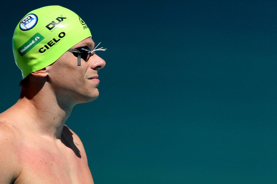 Cesar Cielo Pulls Out of 2018 South American Swimming Championships