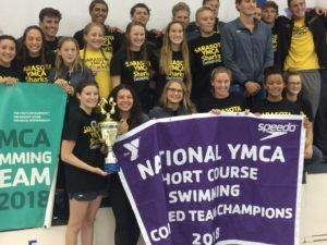 Sarasota, Cheshire Win 2018 YMCA Short Course National Championships