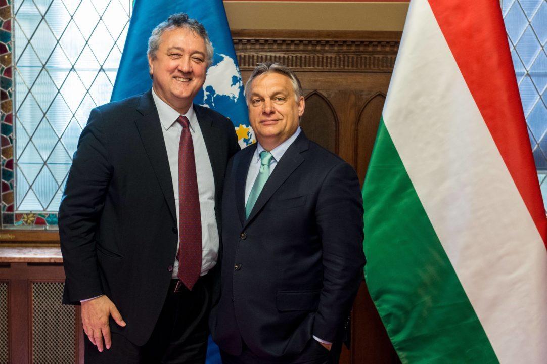 Il Presidente Paolo Barelli Incontra il Primo Ministro Ungherese