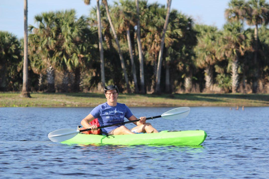 High School Teacher Luther Davis Swims 164-Mile St. John's River