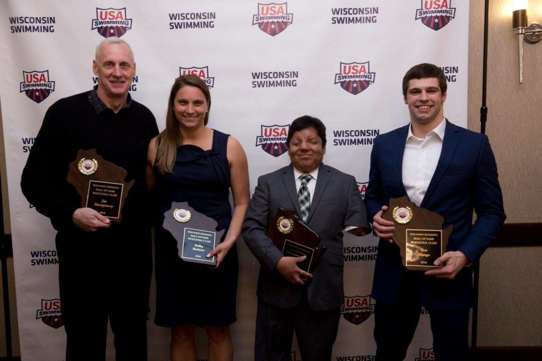 Olympic, Paralympic Champions Inducted into Wisconsin Swimming HOF