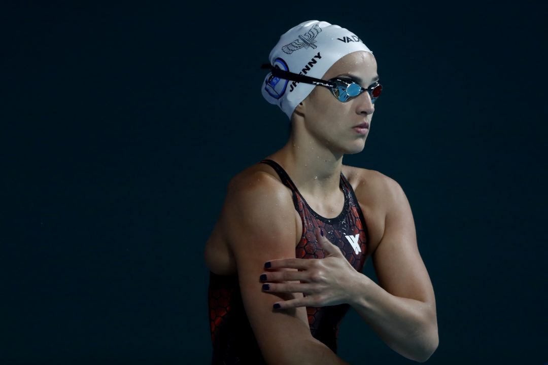 Jhennifer Conceicao Breaks South American 100 Breast Record at Sette Colli