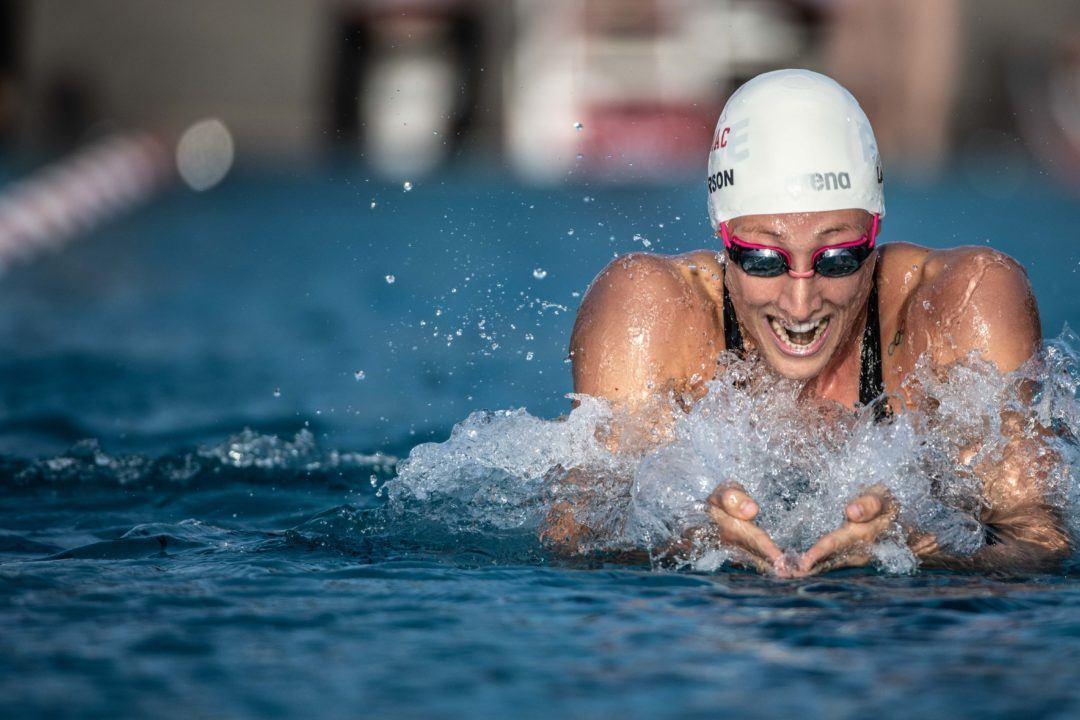 Breeja Larson Wins 50 Breast on Day 1 of Argentina Championships