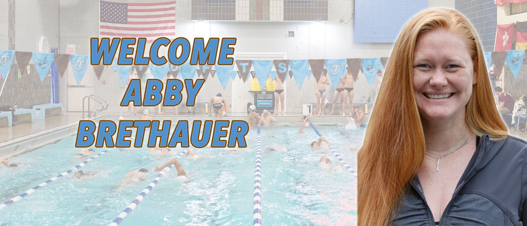 Tufts Hires Abby Brethauer as Associate Head Swimming Coach