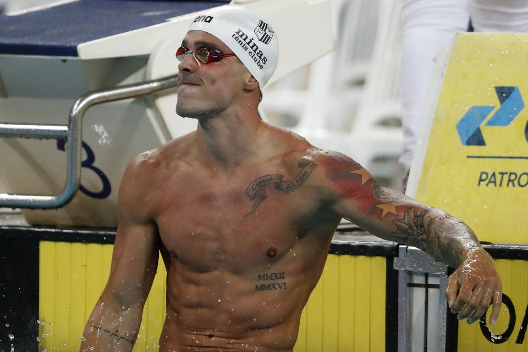Bruno Fratus Defies Convention, Swims 21.7 With 3 Breaths