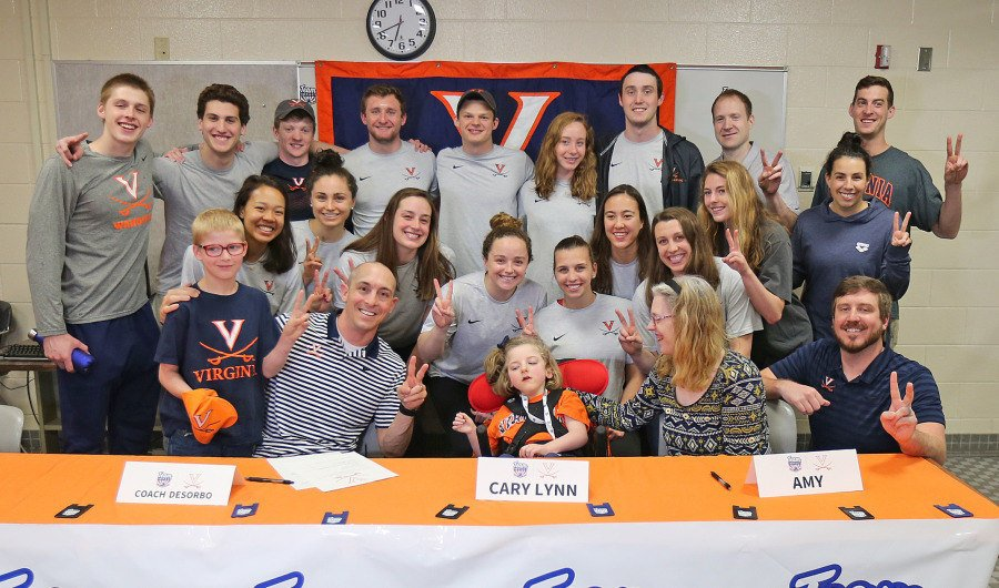 Virginia Adds 6-Year Old Cary Lynn Fields to Swim/Dive Team