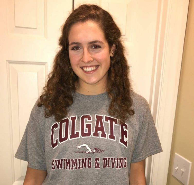 Emma Peck and Lindsay Criqui to Swim for the Colgate Raiders