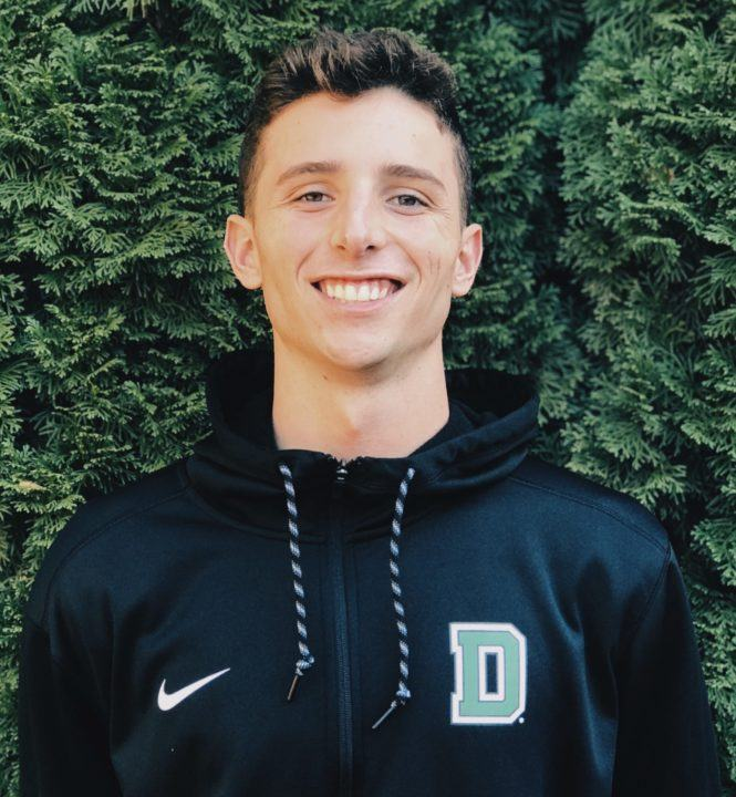 Two-sport Athlete Luke Rohlen Commits to Swim for Dartmouth