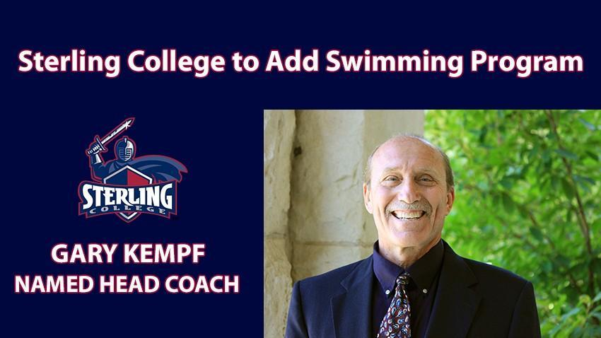 Sterling College Announces New Swim Program; Hires Former Kansas Coach