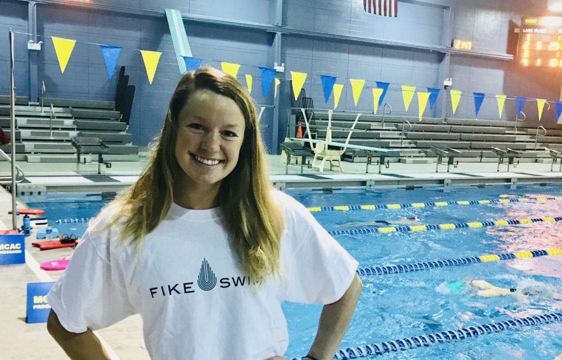National Teamer Hellen Moffitt Joins Fike Swim