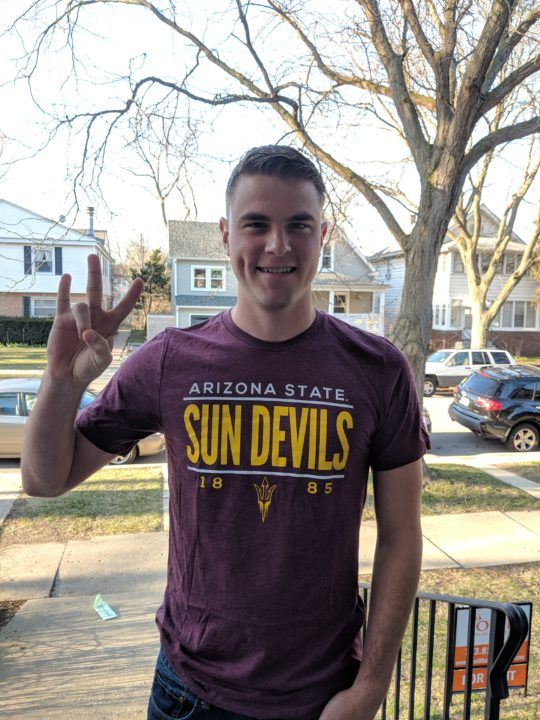 Gage Kohner to Swim at ASU with Final Season of Eligibility