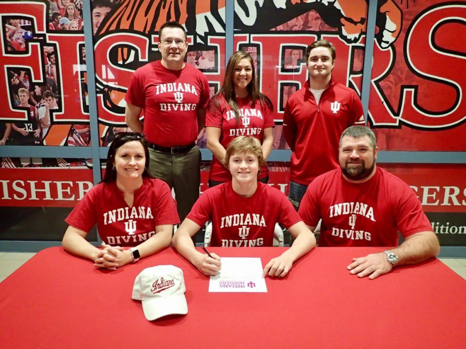 In-state Diver Cole VanDevender Will Be a Hoosier Next Year