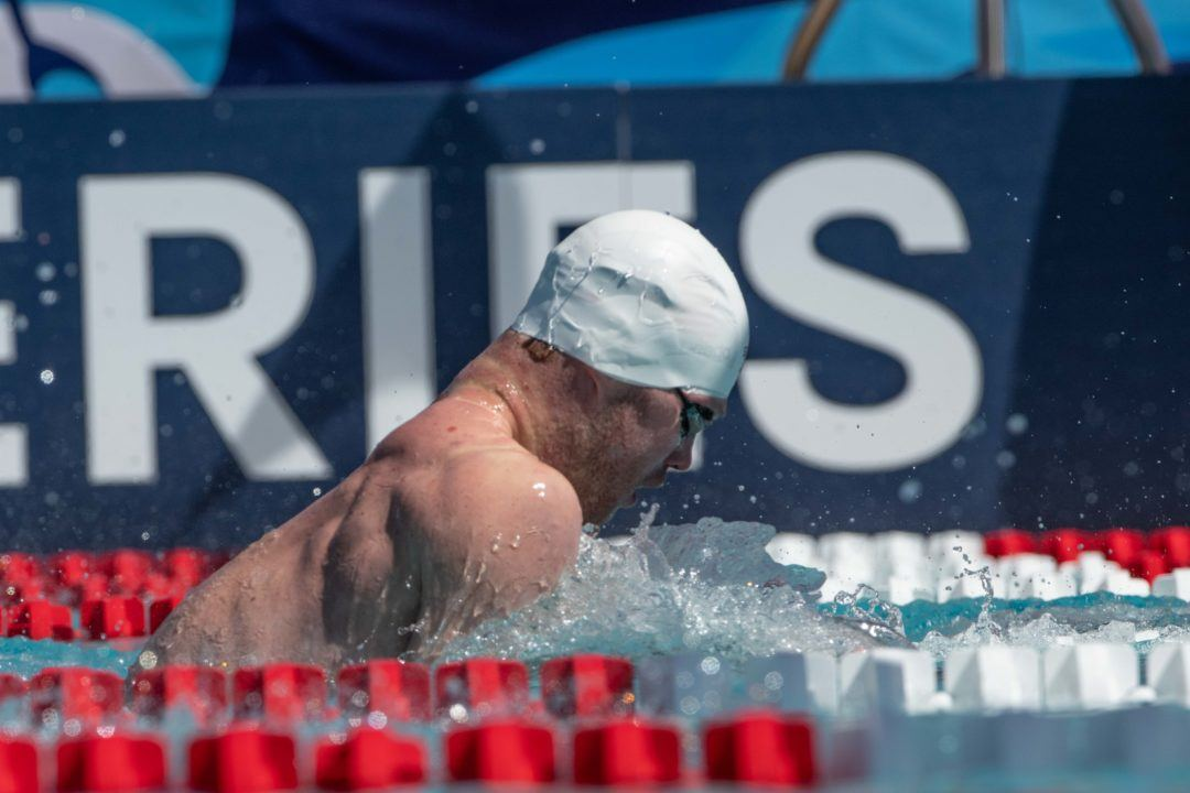 Kevin Cordes Breaks Meet Record in 100y Breast at 4 Corners Sectionals