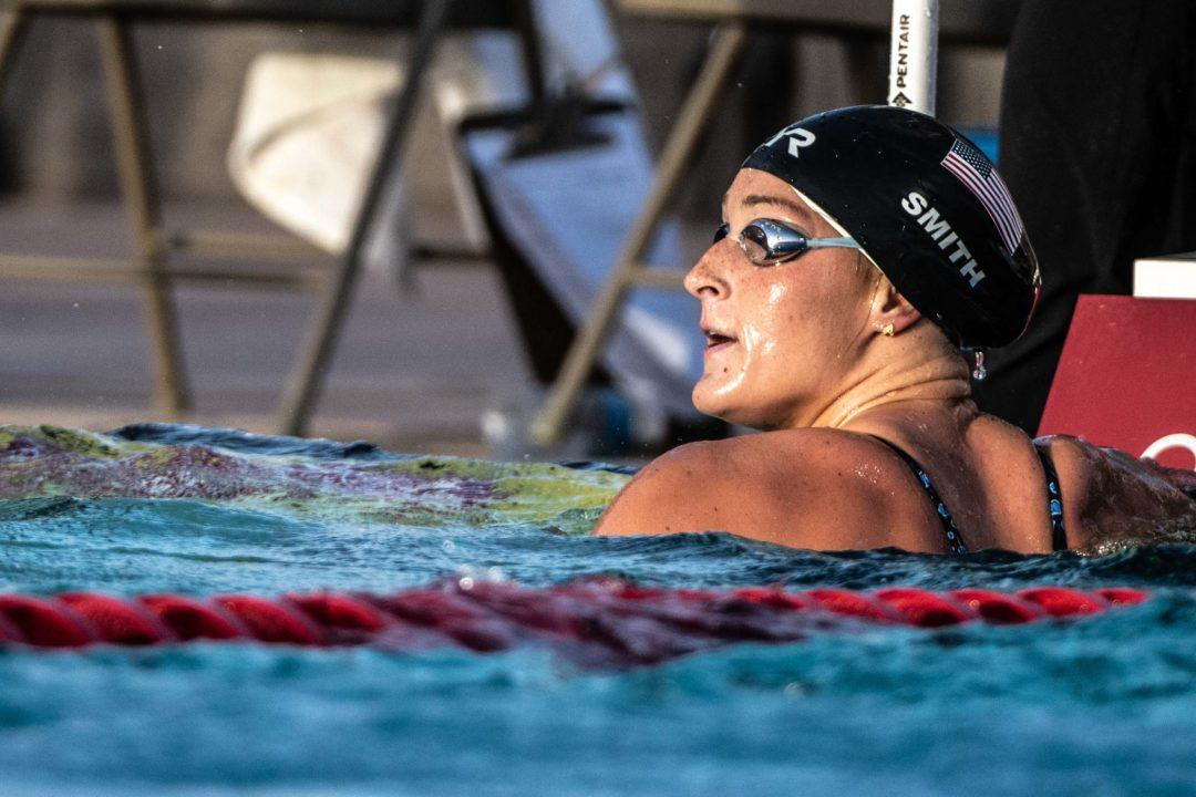 Sandeno Leads SwimSquad Points After Day 1 In Mesa