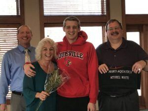 Mitchell Whyte Goes From E. Michigan Commit to UofL NCAA Qualifier (Video)