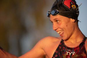 WATCH: Mallory Comerford Swims to 50 Free Shootout Win in Mesa