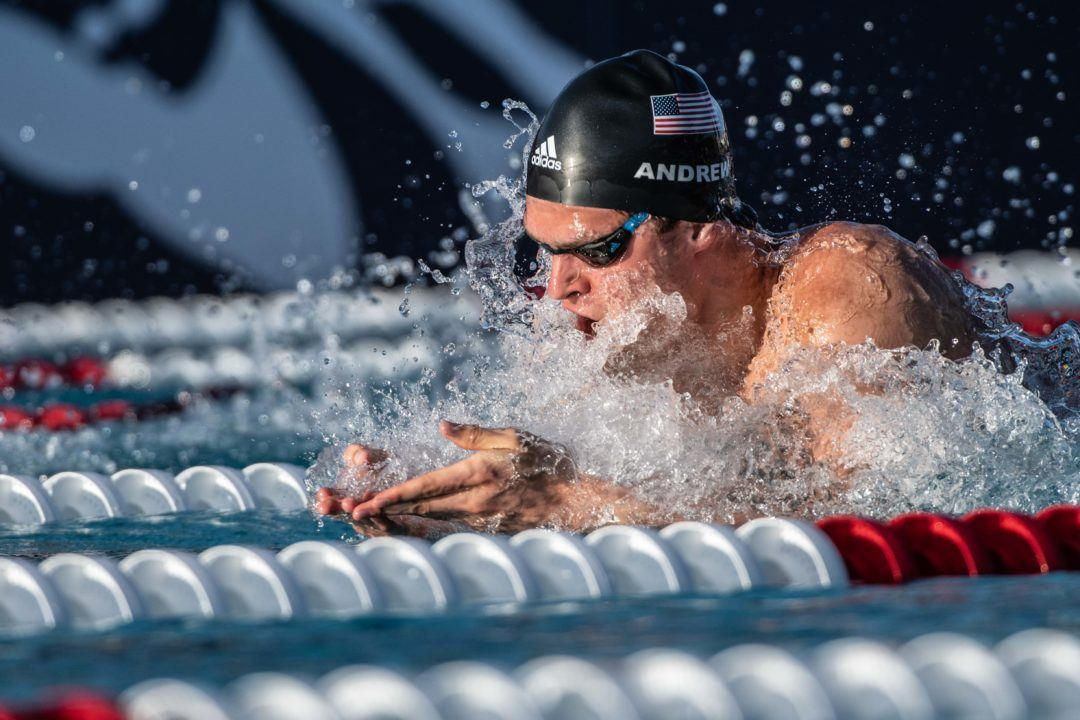 Michael Andrew Swims Lifetime Best, Missy Races Again in Day 2 Prelims