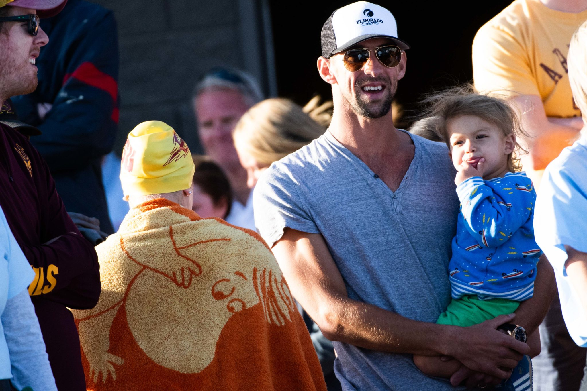 Michael Phelps To Hit The Ryder Cup Celebrity Golf Course
