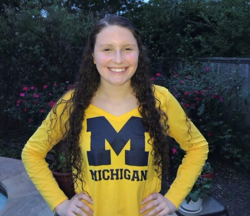 Winter Juniors Champ Kaitlynn Sims Gives Verbal to Michigan for 2019-20
