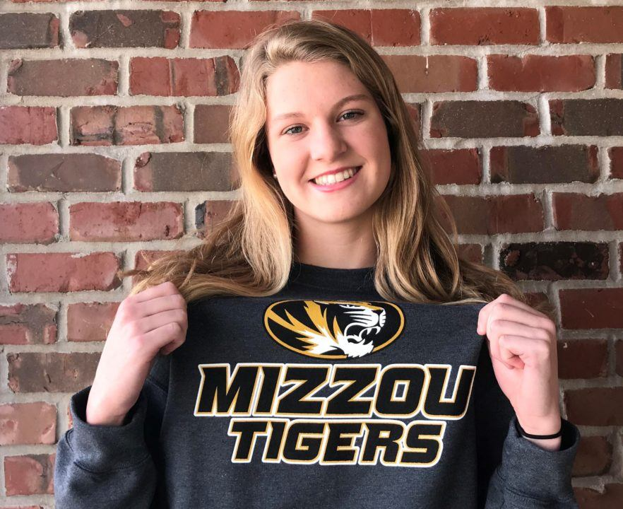 Iowa High School Record-holder Amy Feddersen Verbally Commits to Mizzou