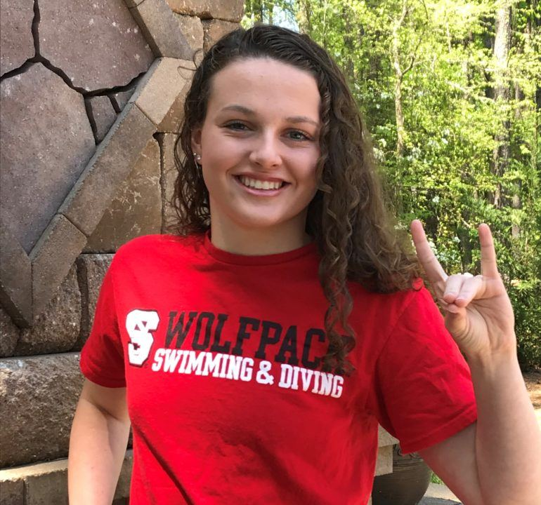 NC State Earns Verbal Commitment from YNats Champ Faith Hefner