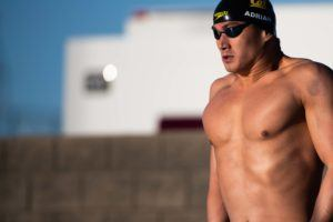 WATCH: Michael Andrew, Nathan Adrian Go Head-to-Head Again in Mesa 50 Free Shootouts