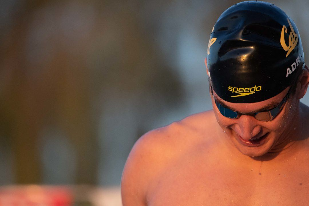 Nathan Adrian's 3-Year PSS Streak in 100 Free Ends on Saturday Morning