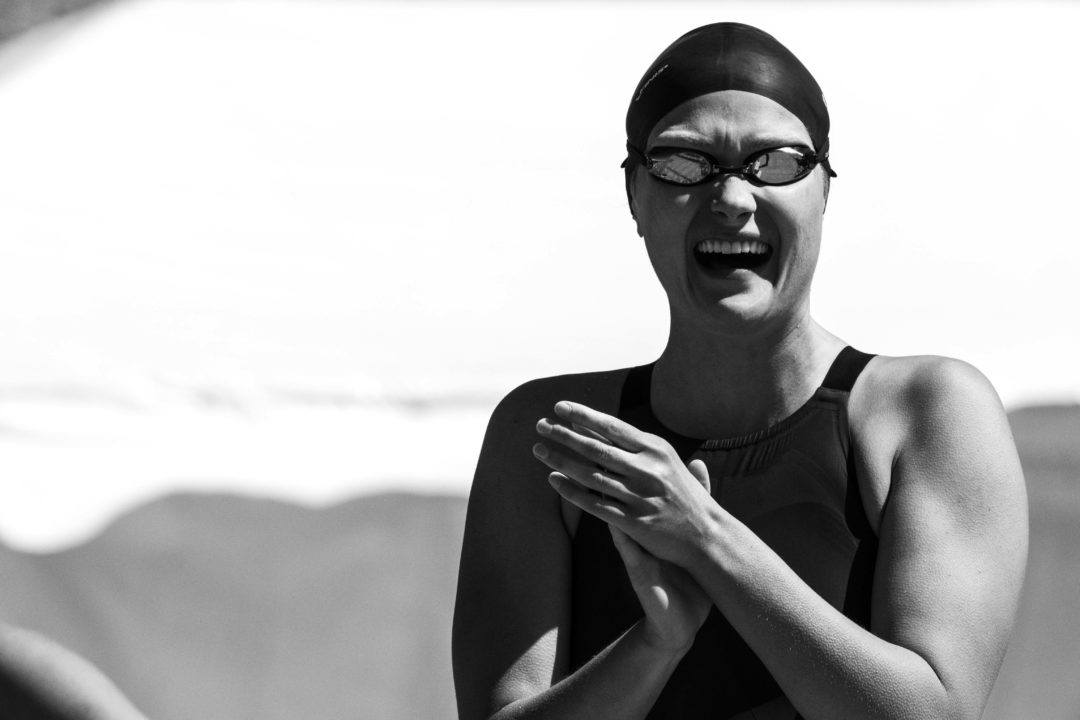 Olivia Smoliga Cracks American 50 Back Record In Mesa